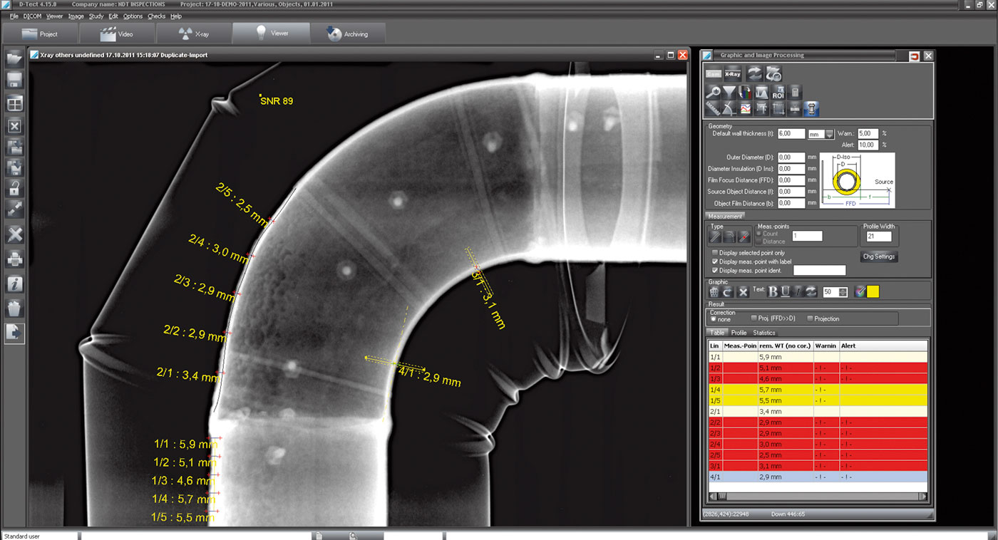 Weld Inspection Industrial Imaging Solutions